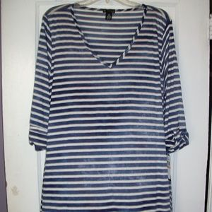 NEW DIRECTION PLUS SIZE TUNIC TOP